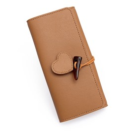 Ericdress Plain Clasp Wallet