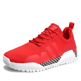 Ericdress Breathable Mesh Lace-Up Men's Running Shoes