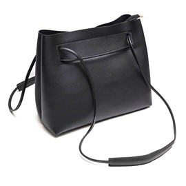 Ericdress Contracted Solid Color Small Crossbody Bag