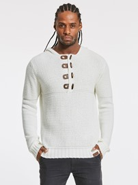 Ericdress Plain Button Slim Fit Men's Knitwear