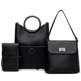 Ericdress Exquisite Plain Handbag(3 bags)