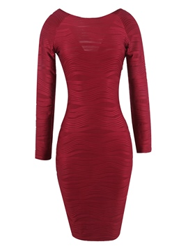 Ericdress Pencil Pullover Fall Women's Bodycon Dress