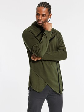Ericdress unique irrégulier robes casual pull pull homme hoodie