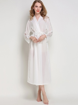 Ericdress Robe See-Through Long Sexy Night Dress