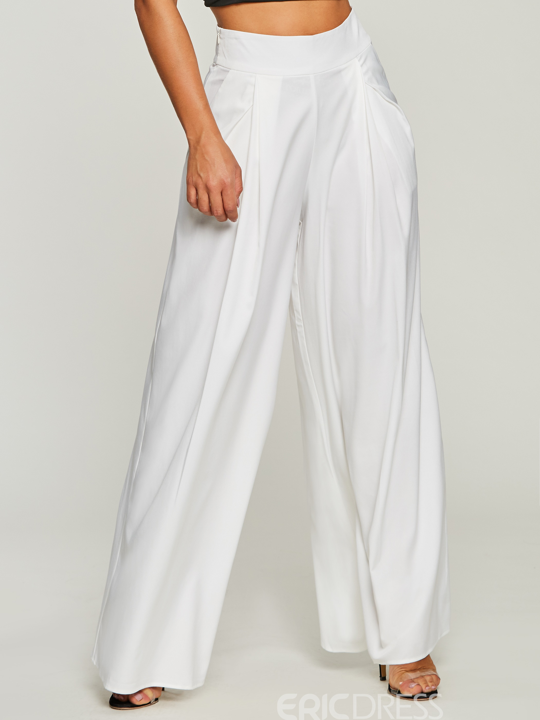 Ericdress Loose Straight Casual Pants