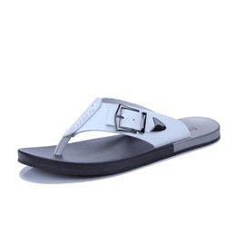 Ericdress Buckle Thong Plain Slip-On Men's Sandals