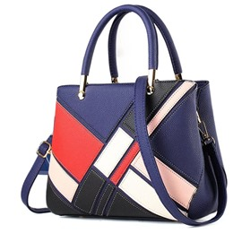 Ericdress Modern Style Quilted Lining Tote Bag