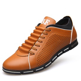 Ericdress Popular British Round Toe Lace-Up Men's Casual Shoes