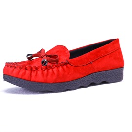 Ericdress Round Toe Slip-On Plain Women's Flats