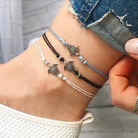 Ericdress Sea Turtle Women Vacation Anklet