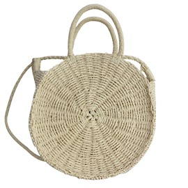 Ericdress Plain Grass Tote Bag
