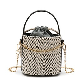 Ericdress Barrel-Shaped Soft Tote Bag