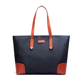 Ericdress Casual Color Block Nylon Tote Bag