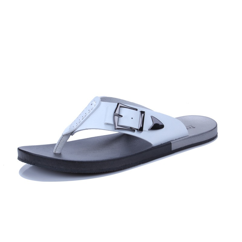 Stripe Patchwork Thong Slip-On Men's Slides discount cheapest price sale new arrival many kinds of online explore clearance cheapest price PZAA5w2y