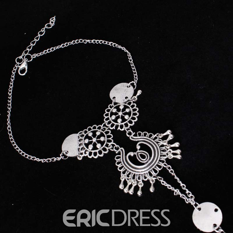 Ericdress Bohemian Style Retro Pattern Anklets For Women