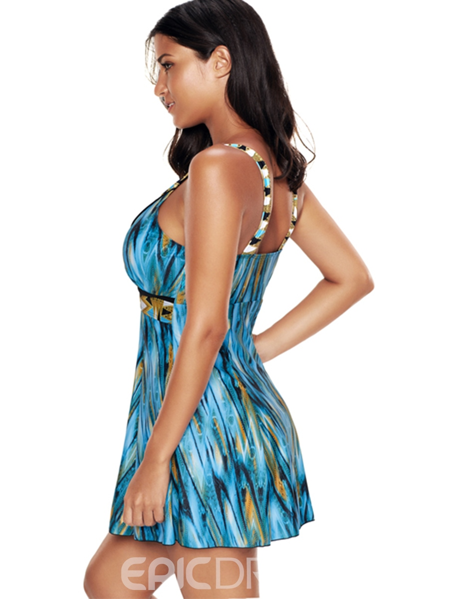 Ericdress Plus Size One Piece Bathing Suits