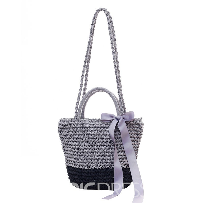 Ericdress Knitted Women Tote Bag