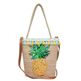 Ericdress Summer pineapple Pattern Shoulder Bag