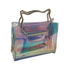 Ericdress PVC Mini Women Shoulder Bag