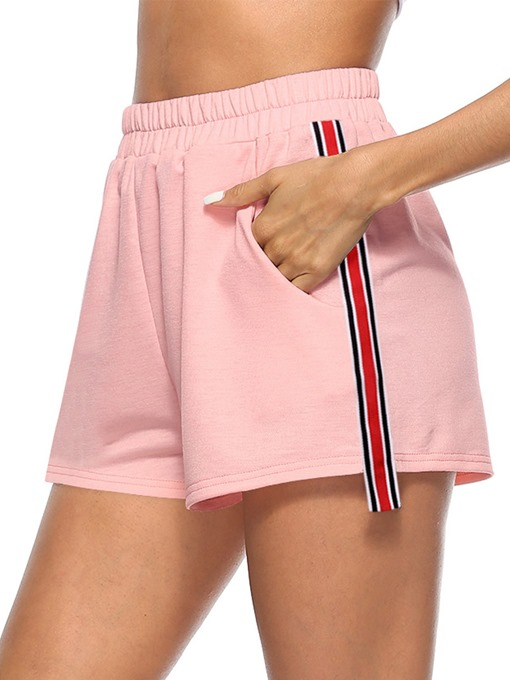 Ericdress Stripe Women's Sports Shorts