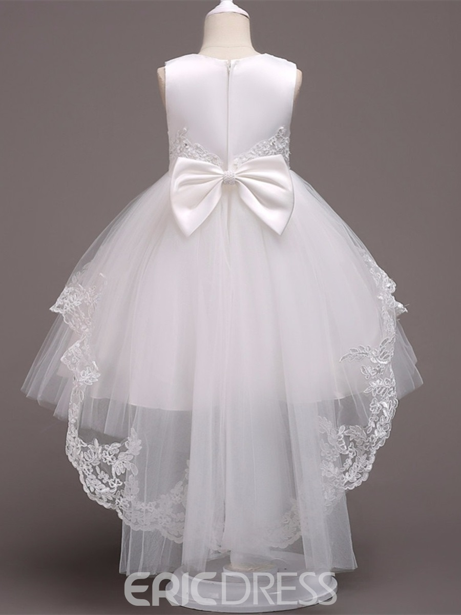 Ericdress Ball Gown Tulle White Flower Girl Dress