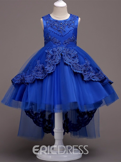 Ericdress Tulle Ball Gown Flower Girl Party Dress