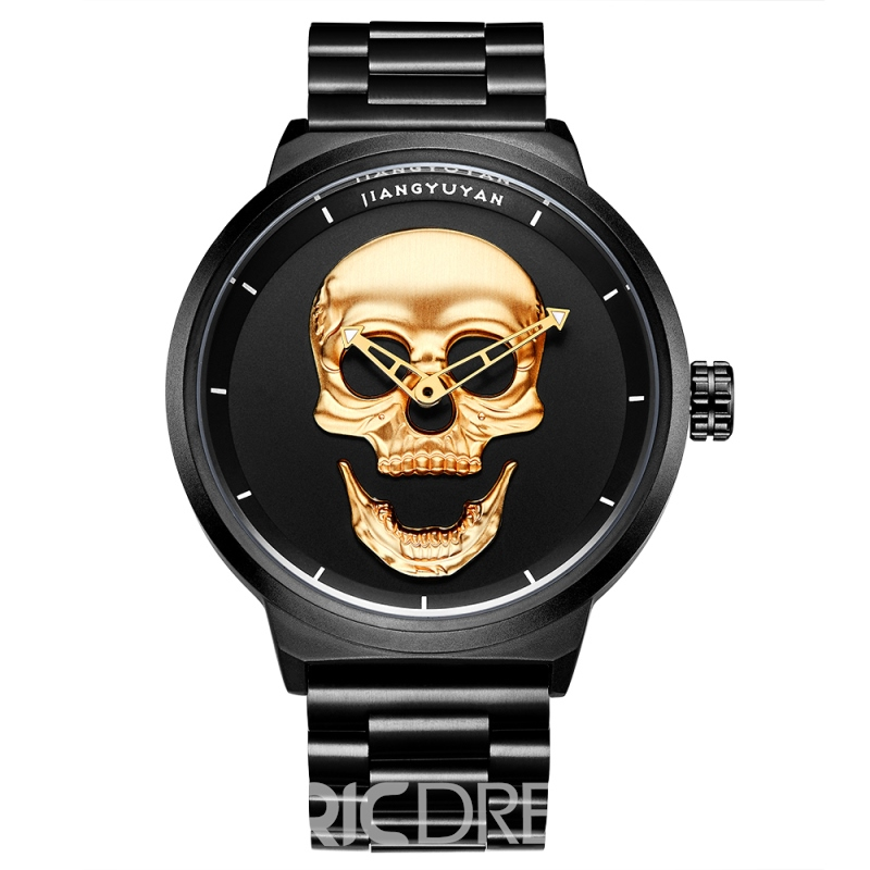Ericdress Skull Smile Waterproof Men Watch
