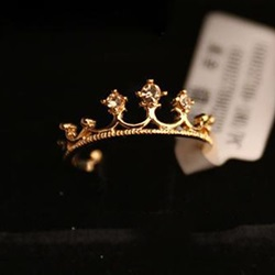 Ericdress Princess Crown Women Ring