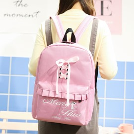 Ericdress Cute Shoelace Decoration Women Backpack