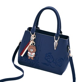 Ericdress Vogue Floral Embroidery Tote Bag