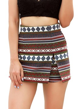 Ericdress Bohemia Print Women's Shorts
