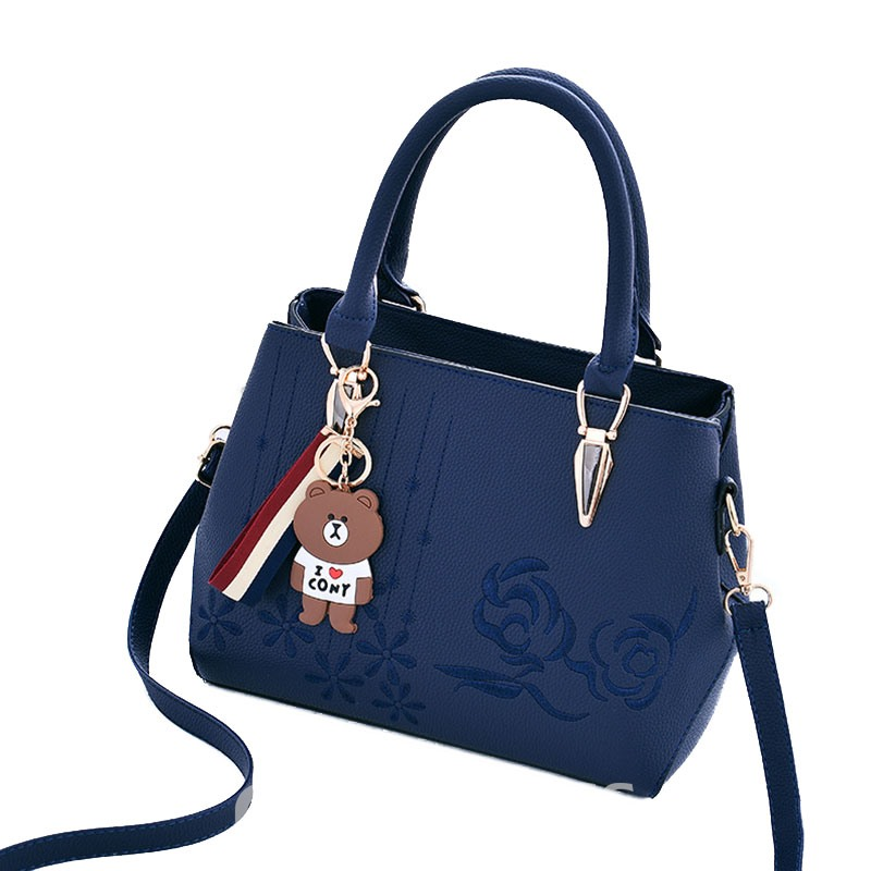 Ericdress Vogue Floral Embroidery Tote Bag 13249606