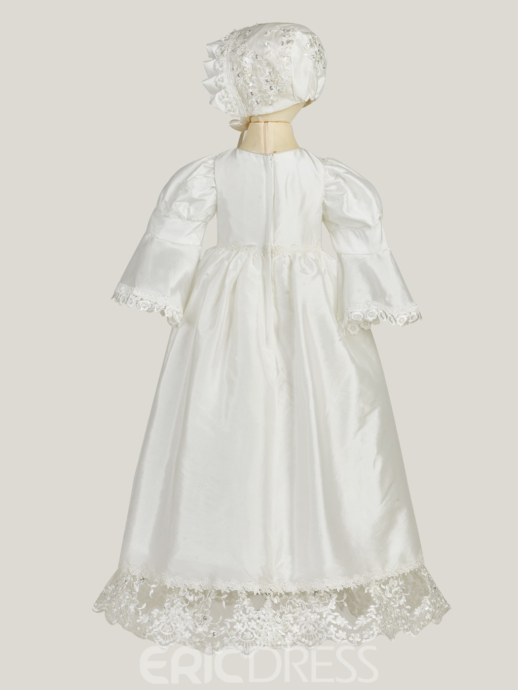 Ericdress Half Sleeves A Line Baby Christening Gown