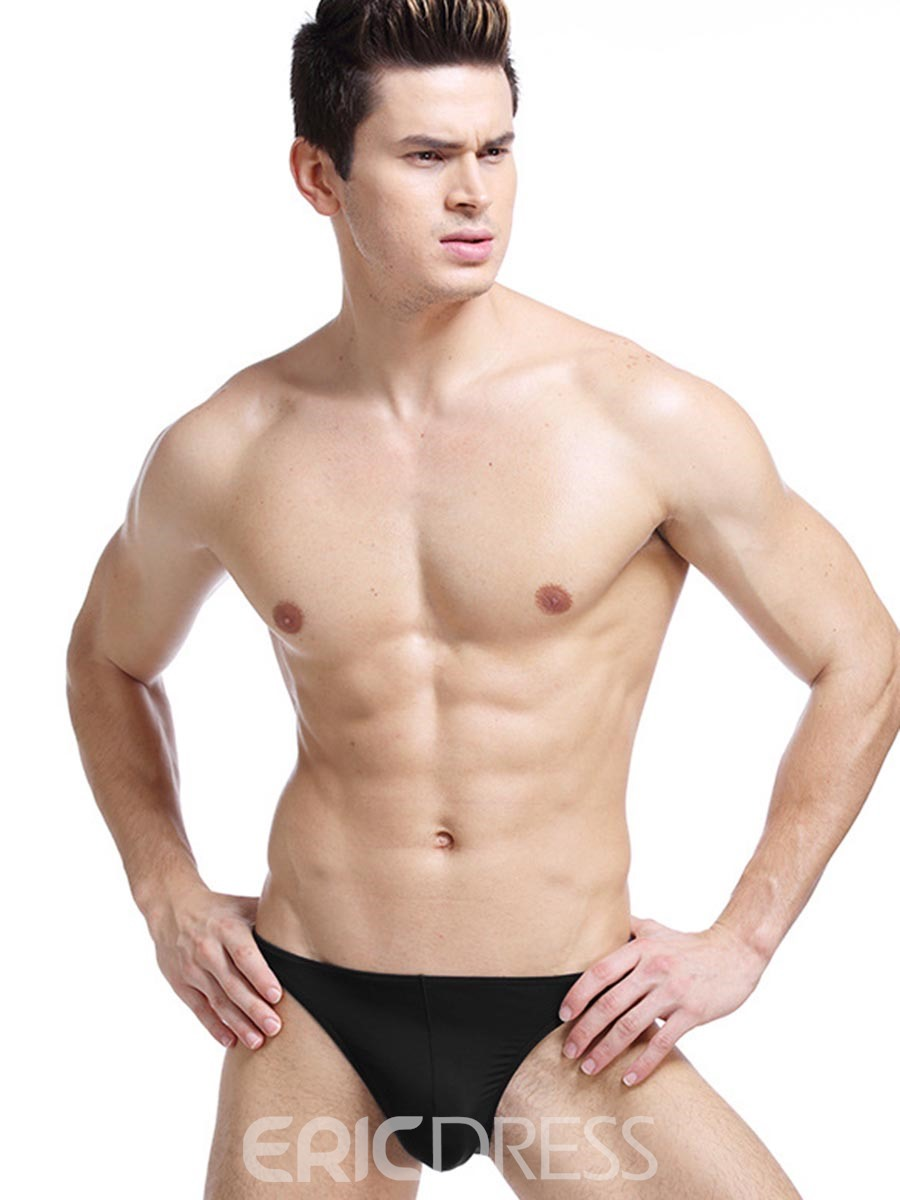 Ericdress Sport Seamless Sexy Thin Ice Silk Briefs for Men