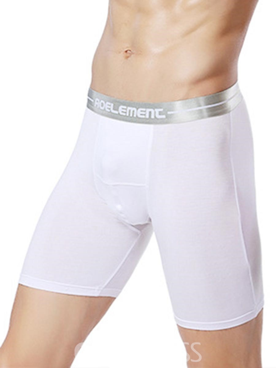 Ericdress Casual Sport Modal Soft Breathable Long Boxers for Men