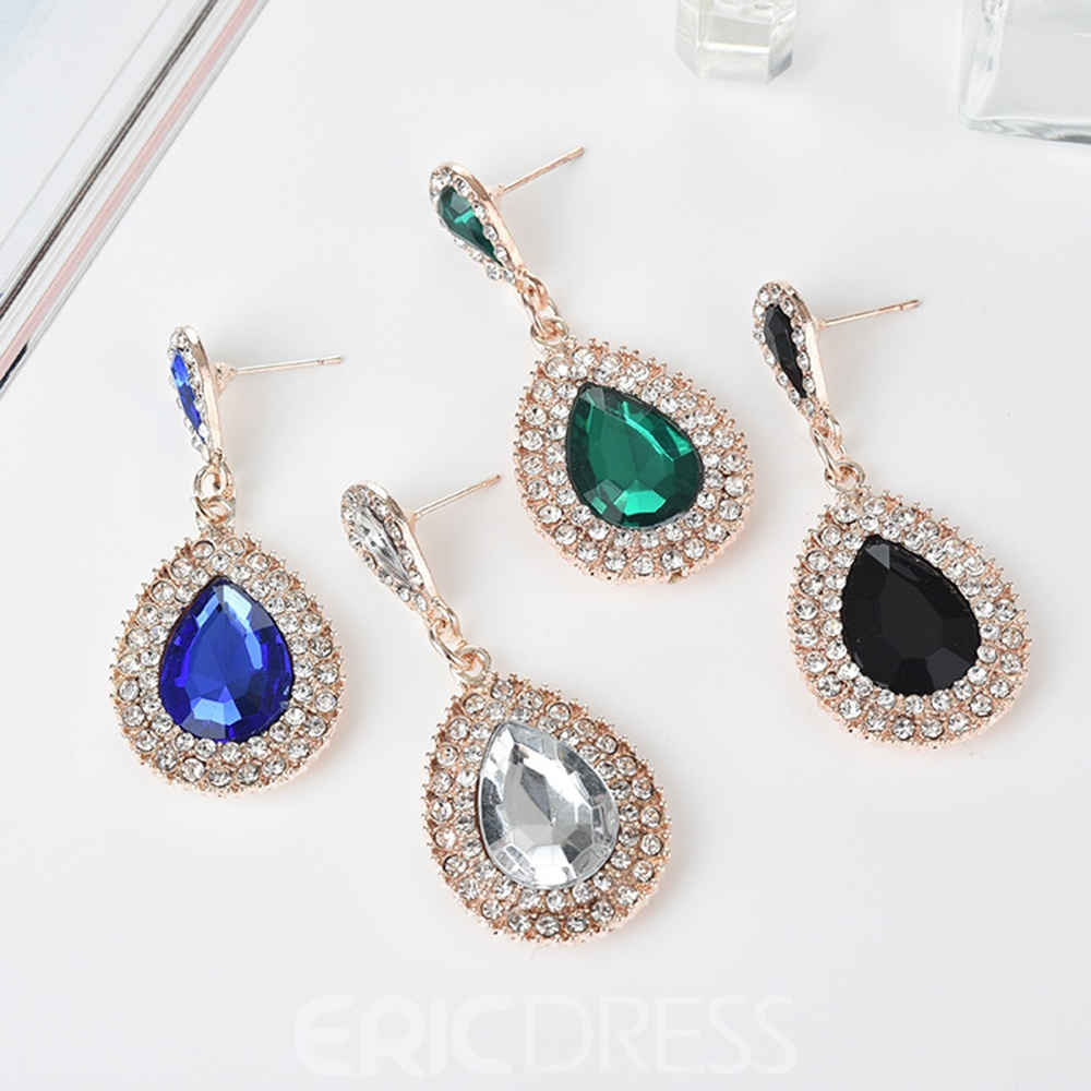 Ericdress Baroque Luxury Imitation Jewelry Drop Earring