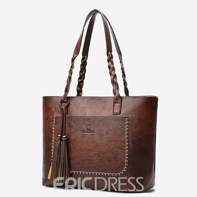 Ericdress Colorful High Quality Tote Bag