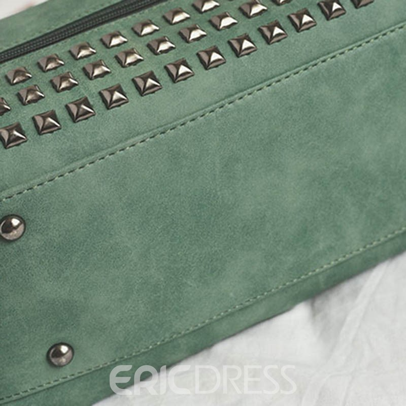 Ericdress Rivet Motorcycle Tote Bag