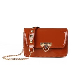 Ericdress leather Lock Cross Body Bag