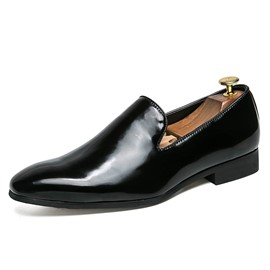 Ericdress PU Slip-On Round Toe Men's Oxfords