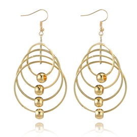 Ericdress Multilayer Alloy Drop Earring