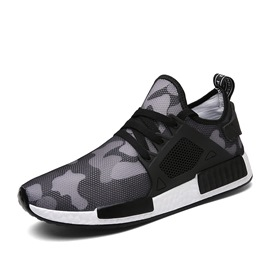 Ericdress Camouflage Print Mid-Cut Men's Sneakers