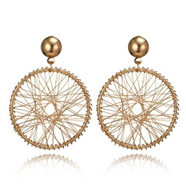 Ericdress Dreamcatcher Alloy Drop Earring