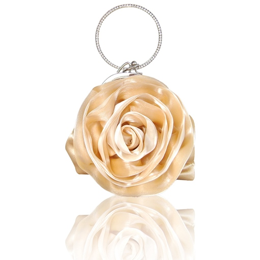 Ericdress Rose Shaped Colorful Women Clutches