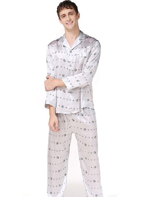 Ericdress Print Letter Nine Points Sleeve Sleep Top Summer Pajamas Sets