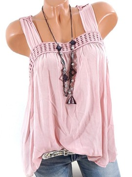 Ericdress Loose Pleated Casual Vest