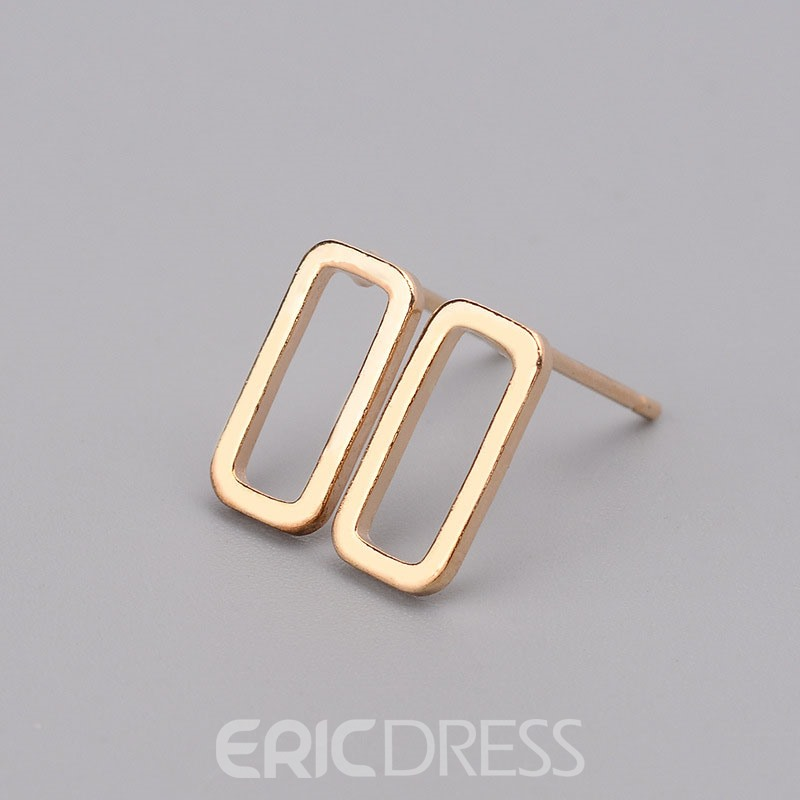 Ericdress Varied Shapes Alloy Stud Earring