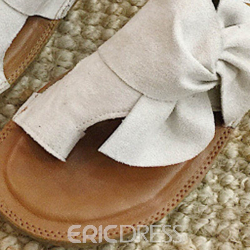 Ericdress PU Toe Ring Slip-On Block Heel Mules Shoes