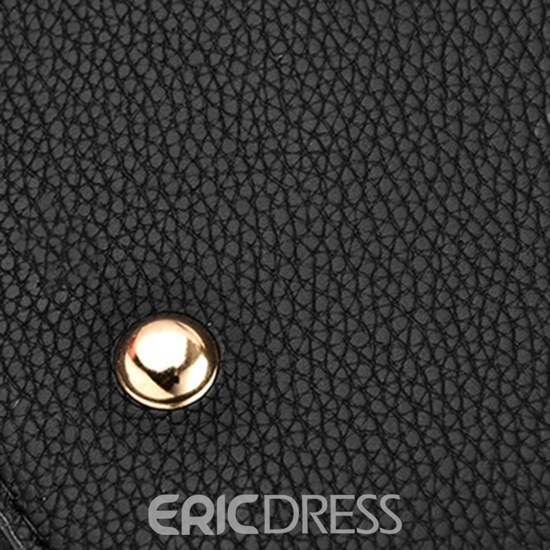 Ericdress Occident Style Plaid Soft Tote Bag