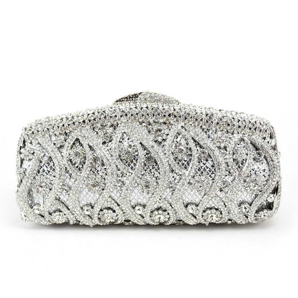 Ericdress Luxury Chain Rhinestone Clutch